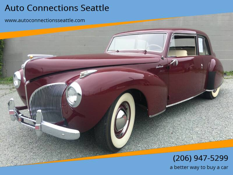1941 Lincoln Continental for sale at Auto Connections Seattle in Seattle WA