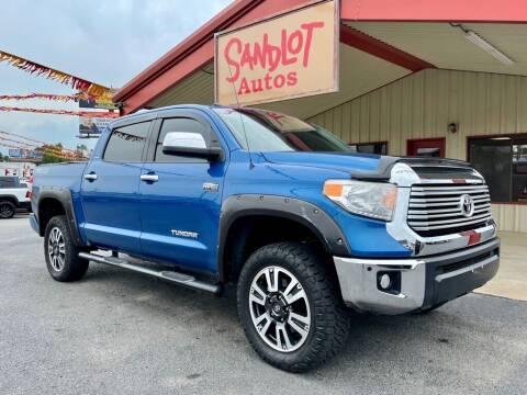 2016 Toyota Tundra for sale at Sandlot Autos in Tyler TX