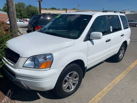 2004 Honda Pilot for sale at Trocci's Auto Sales in West Pittsburg PA