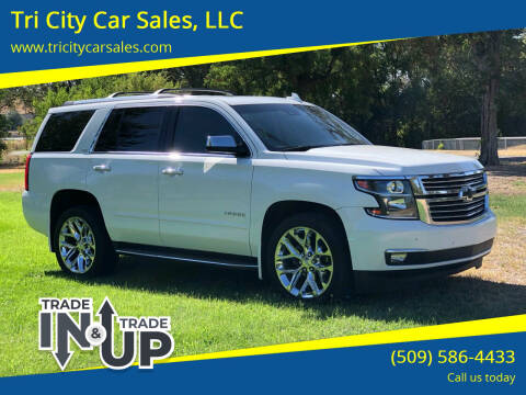 2016 Chevrolet Tahoe for sale at Tri City Car Sales, LLC in Kennewick WA
