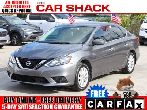 2019 Nissan Sentra for sale at The Car Shack in Hialeah FL