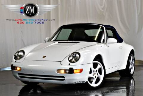 1995 Porsche 911 for sale at ZONE MOTORS in Addison IL