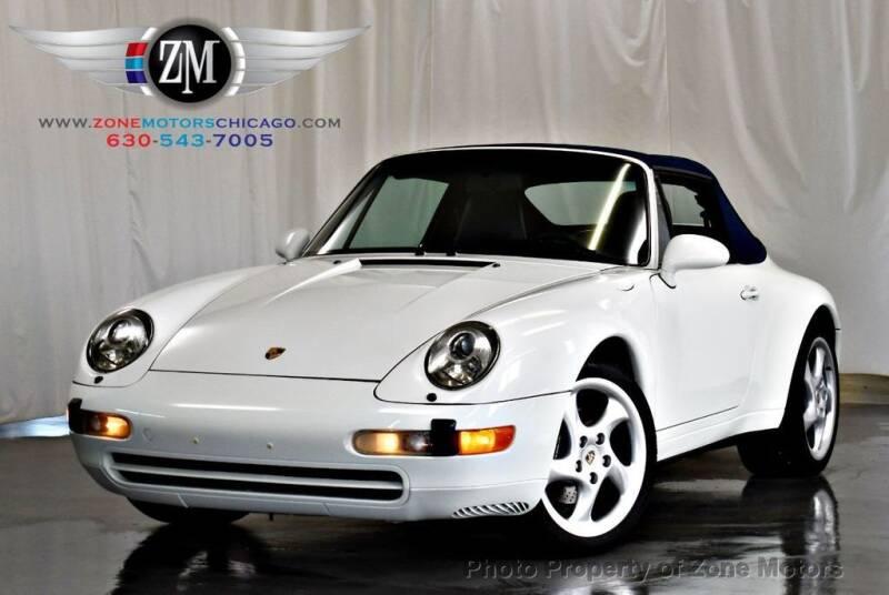 1995 Porsche 911 for sale at ZONE MOTORS in Addison IL