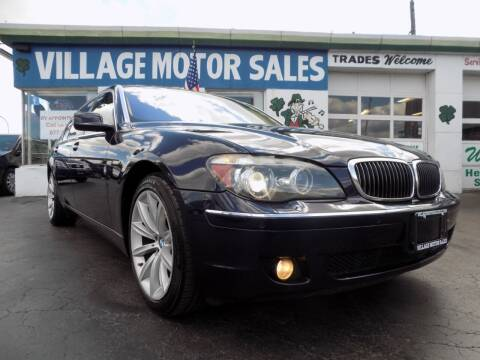 2008 BMW 7 Series for sale at Village Motor Sales in Buffalo NY