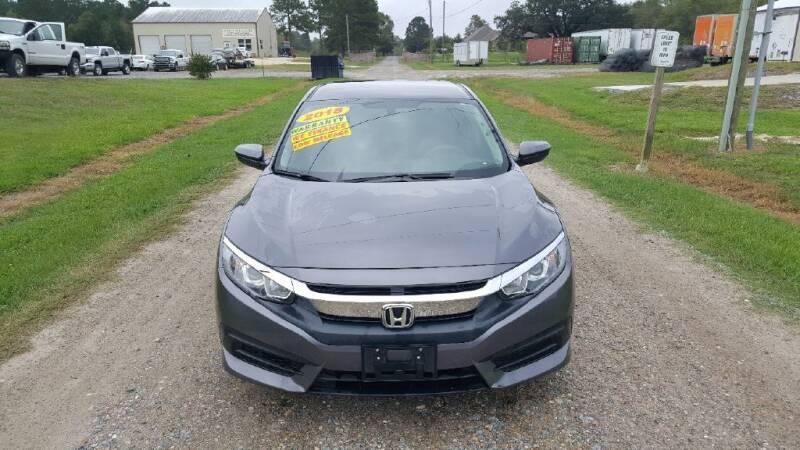 2018 Honda Civic for sale at Auto Guarantee, LLC in Eunice LA