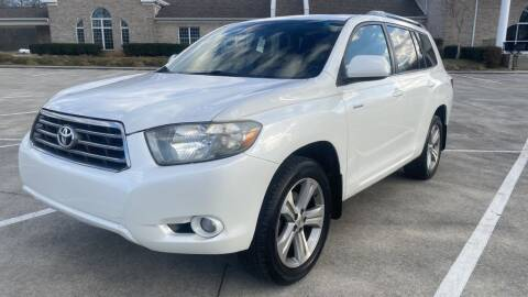 2008 Toyota Highlander for sale at 411 Trucks & Auto Sales Inc. in Maryville TN