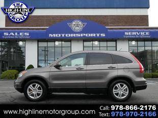 2010 Honda CR-V for sale at Highline Group Motorsports in Lowell MA