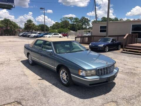 1999 Cadillac DeVille for sale at Friendly Finance Auto Sales in Port Richey FL