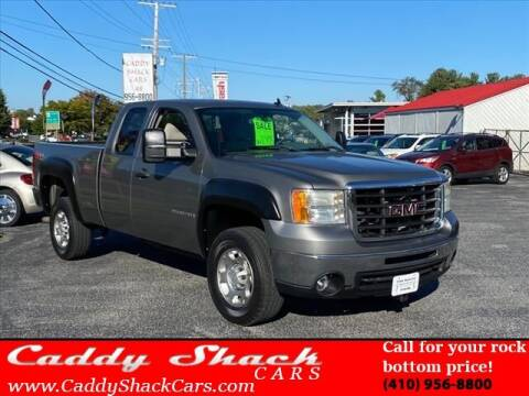 2009 GMC Sierra 2500HD for sale at CADDY SHACK CARS in Edgewater MD
