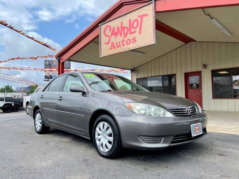 2005 Toyota Camry for sale at Sandlot Autos in Tyler TX