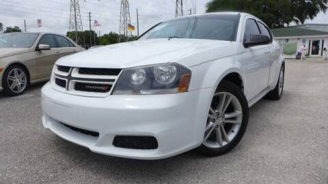 2014 Dodge Avenger for sale at Das Autohaus Quality Used Cars in Clearwater FL