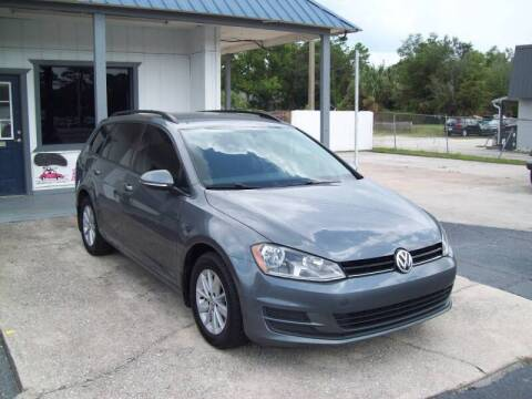 2017 Volkswagen Golf SportWagen for sale at LONGSTREET AUTO in St Augustine FL