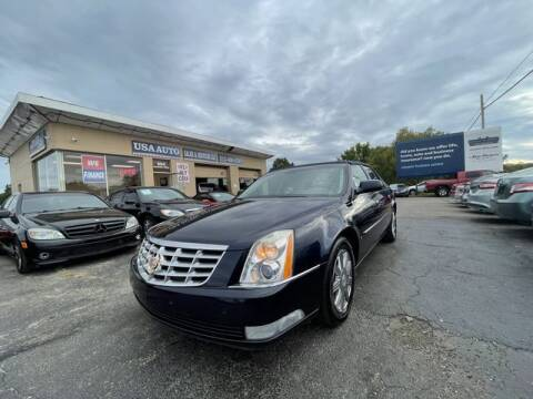 2007 Cadillac DTS for sale at USA Auto Sales & Services, LLC in Mason OH