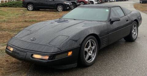 1992 Chevrolet Corvette for sale at Autowright Motor Co. in West Boylston MA