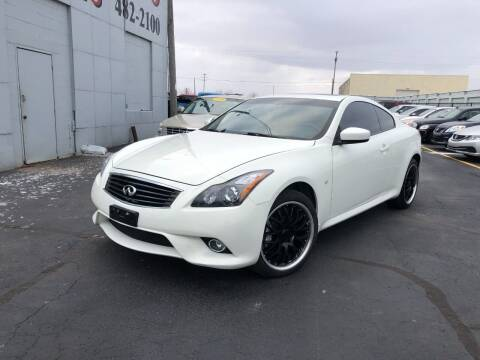 2014 Infiniti Q60 Coupe for sale at Fine Auto Sales in Cudahy WI