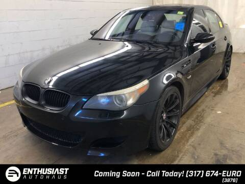 2006 BMW M5 for sale at Enthusiast Autohaus in Sheridan IN
