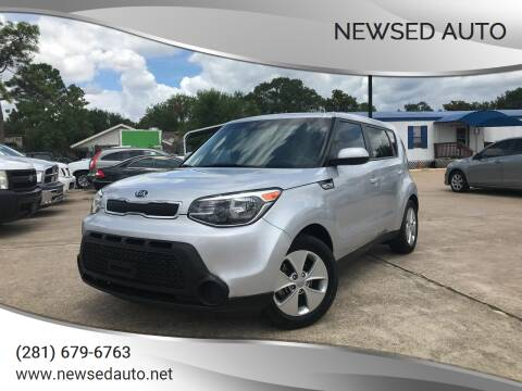 2016 Kia Soul for sale at Newsed Auto in Houston TX