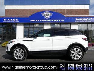 2018 Land Rover Range Rover Evoque for sale at Highline Group Motorsports in Lowell MA