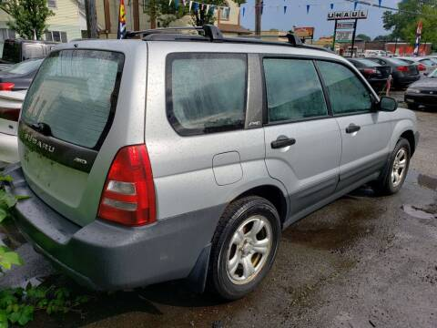 2004 Subaru Forester for sale at Devaney Auto Sales & Service in East Providence RI