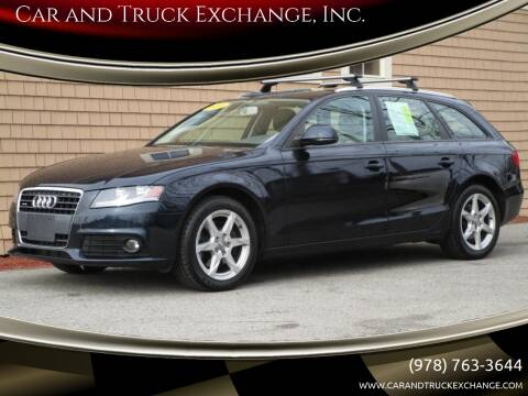2009 Audi A4 for sale at Car and Truck Exchange, Inc. in Rowley MA