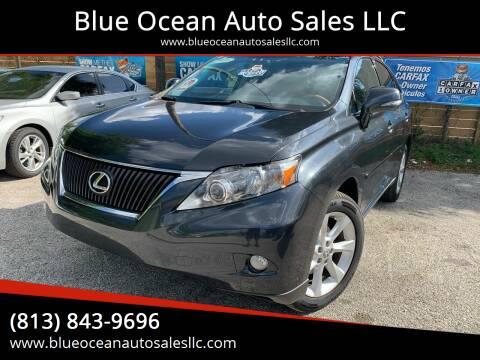 2010 Lexus RX 350 for sale at Blue Ocean Auto Sales LLC in Tampa FL