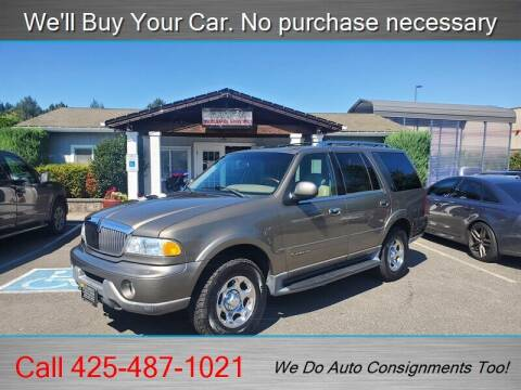 2002 Lincoln Navigator for sale at Platinum Autos in Woodinville WA
