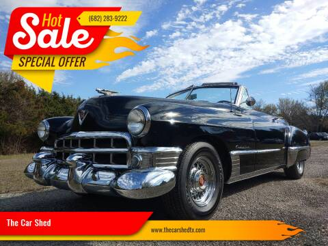 1949 Cadillac Series 62 for sale at The Car Shed in Burleson TX