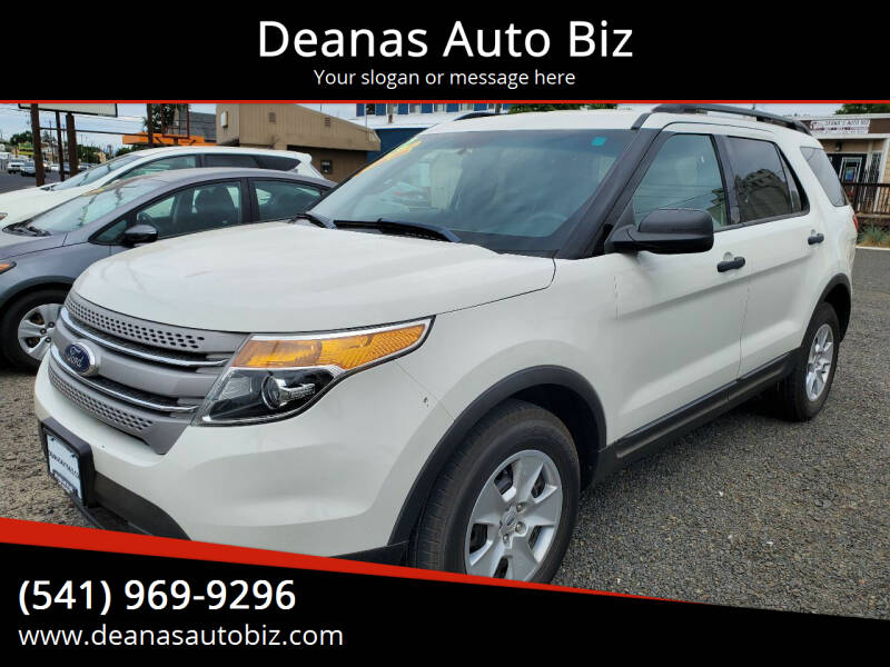 2012 Ford Explorer for sale at Deanas Auto Biz in Pendleton OR