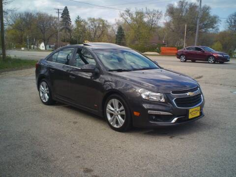 2015 Chevrolet Cruze for sale at BestBuyAutoLtd in Spring Grove IL