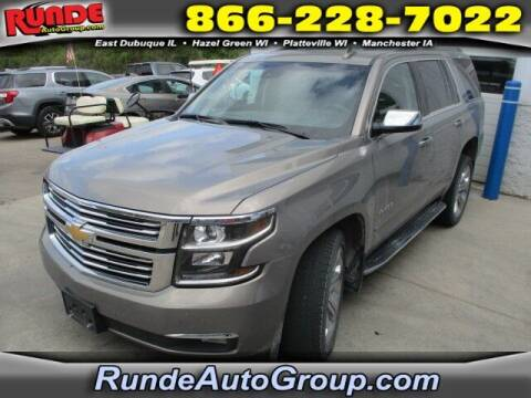 2019 Chevrolet Tahoe for sale at Runde Chevrolet in East Dubuque IL
