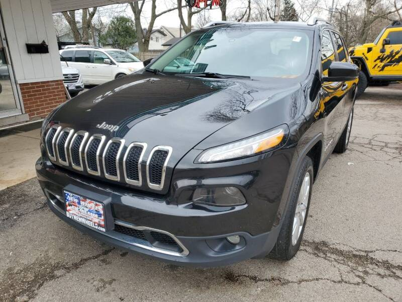 2015 Jeep Cherokee for sale at New Wheels in Glendale Heights IL