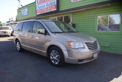 2008 Chrysler Town and Country for sale at Amazing Choice Autos in Sacramento CA