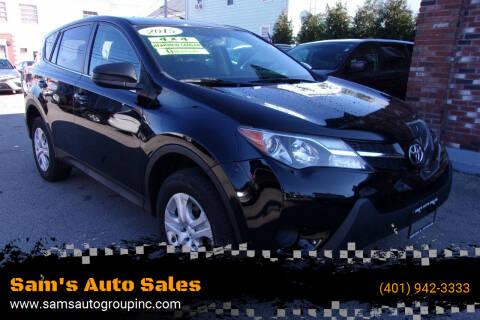 2015 Toyota RAV4 for sale at Sam's Auto Sales in Cranston RI