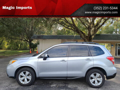 2014 Subaru Forester for sale at Magic Imports in Melrose FL