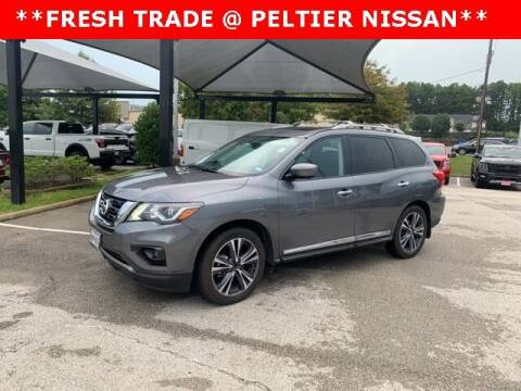2017 Nissan Pathfinder for sale at TEX TYLER Autos Cars Trucks SUV Sales in Tyler TX