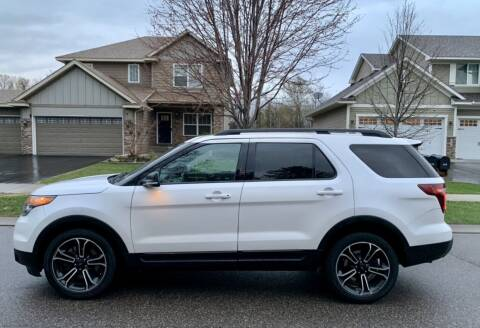 2015 Ford Explorer for sale at You Win Auto in Metro MN