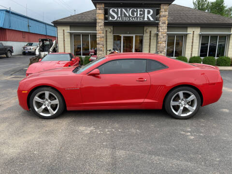 2011 Chevrolet Camaro for sale at Singer Auto Sales in Caldwell OH