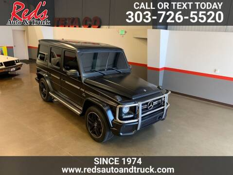 2014 Mercedes-Benz G-Class for sale at Red's Auto and Truck in Longmont CO