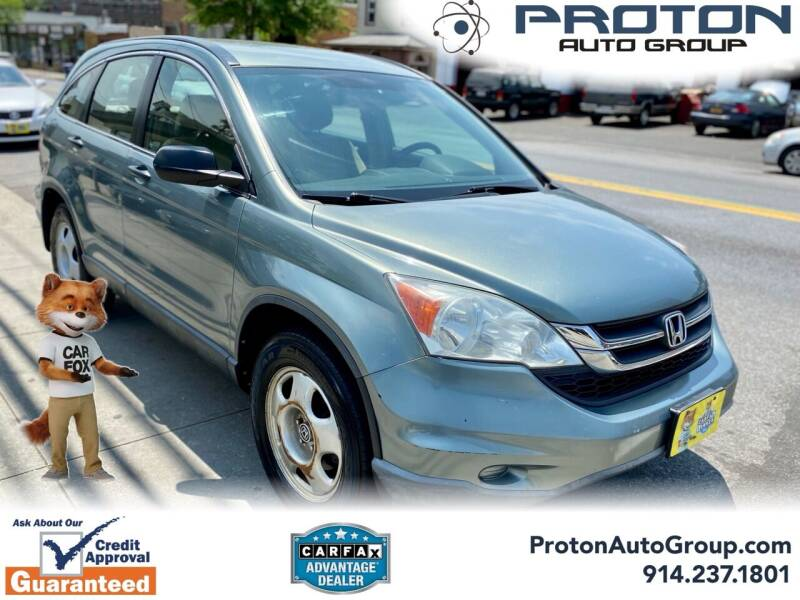 2010 Honda CR-V for sale at Proton Auto Group in Yonkers NY