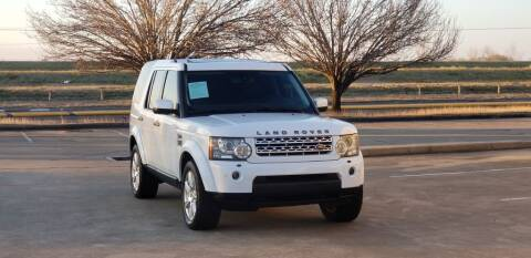2013 Land Rover LR4 for sale at America's Auto Financial in Houston TX
