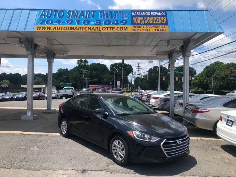 2017 Hyundai Elantra for sale at Auto Smart Charlotte in Charlotte NC