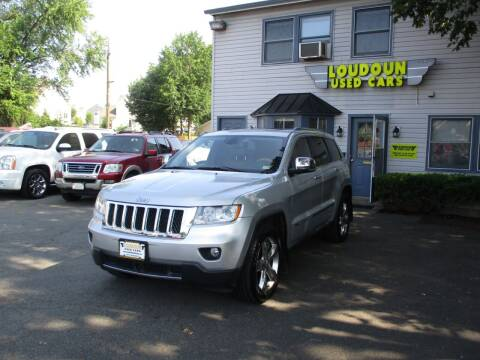 2012 Jeep Grand Cherokee for sale at Loudoun Used Cars in Leesburg VA