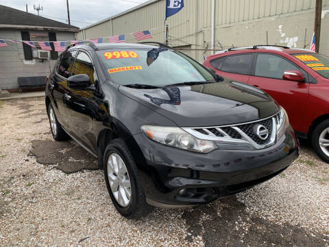 2013 Nissan Murano for sale at CHEAPIE AUTO SALES INC in Metairie LA