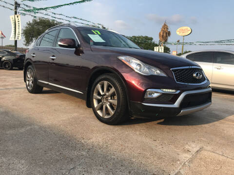 2017 Infiniti QX50 for sale at SOUTHWAY MOTORS in Houston TX