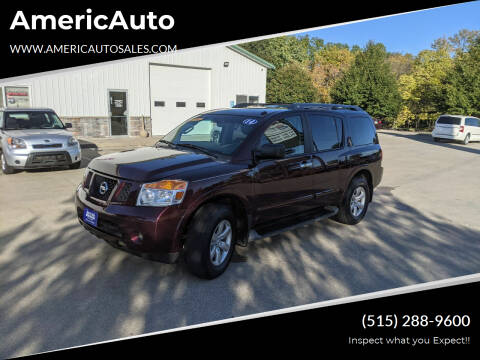 2014 Nissan Armada for sale at AmericAuto in Des Moines IA