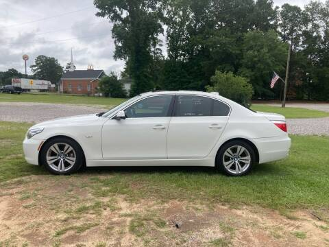 2010 BMW 5 Series for sale at Joye & Company INC, in Augusta GA