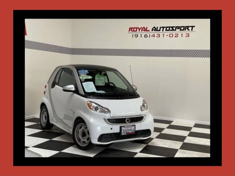 2015 Smart fortwo for sale at Royal AutoSport in Sacramento CA