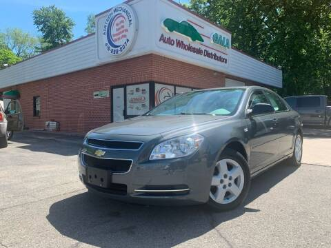 2008 Chevrolet Malibu for sale at GMA Automotive Wholesale in Toledo OH