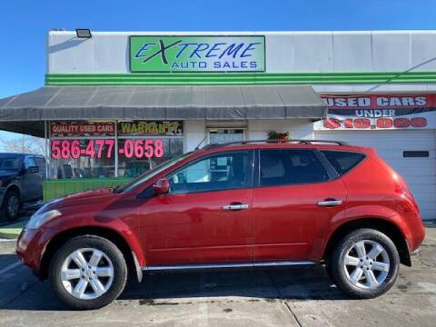2007 Nissan Murano for sale at Extreme Auto Sales in Clinton Township MI