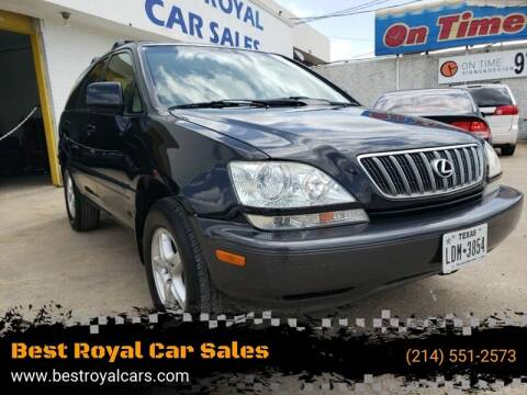 2002 Lexus RX 300 for sale at Best Royal Car Sales in Dallas TX